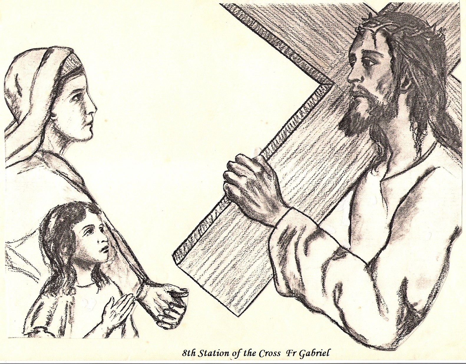 Dom Donald's Blog: Stations of the Cross in the Church of Nunraw ...