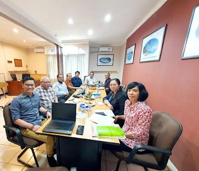 Rapat Khusus membahas berita tentang perancangan RPP perekrutan dan penempatan awak kapal NAKER