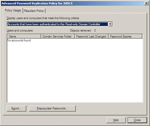 Hardware and networking rodc in the drop down list click accounts that have been authenticated to this read only domain controller as shown in the following illustration yadclub Images