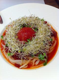 Cold Tomato Udon from Fu Yu Wu Sanuki Udon