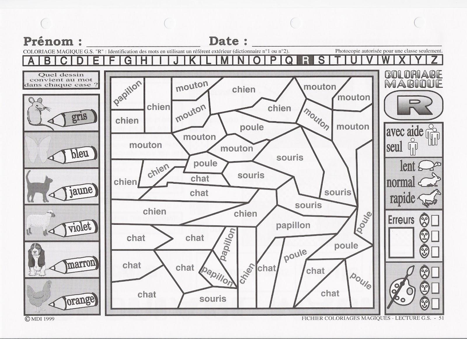 activités scolaires et périscolaires de la gs avril 2012