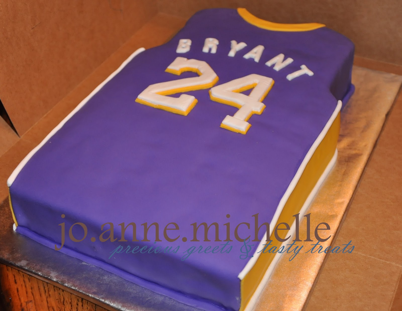 lakers cake ideas