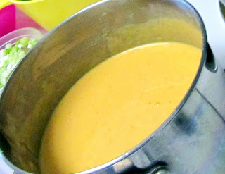 Nacho cheese sauce