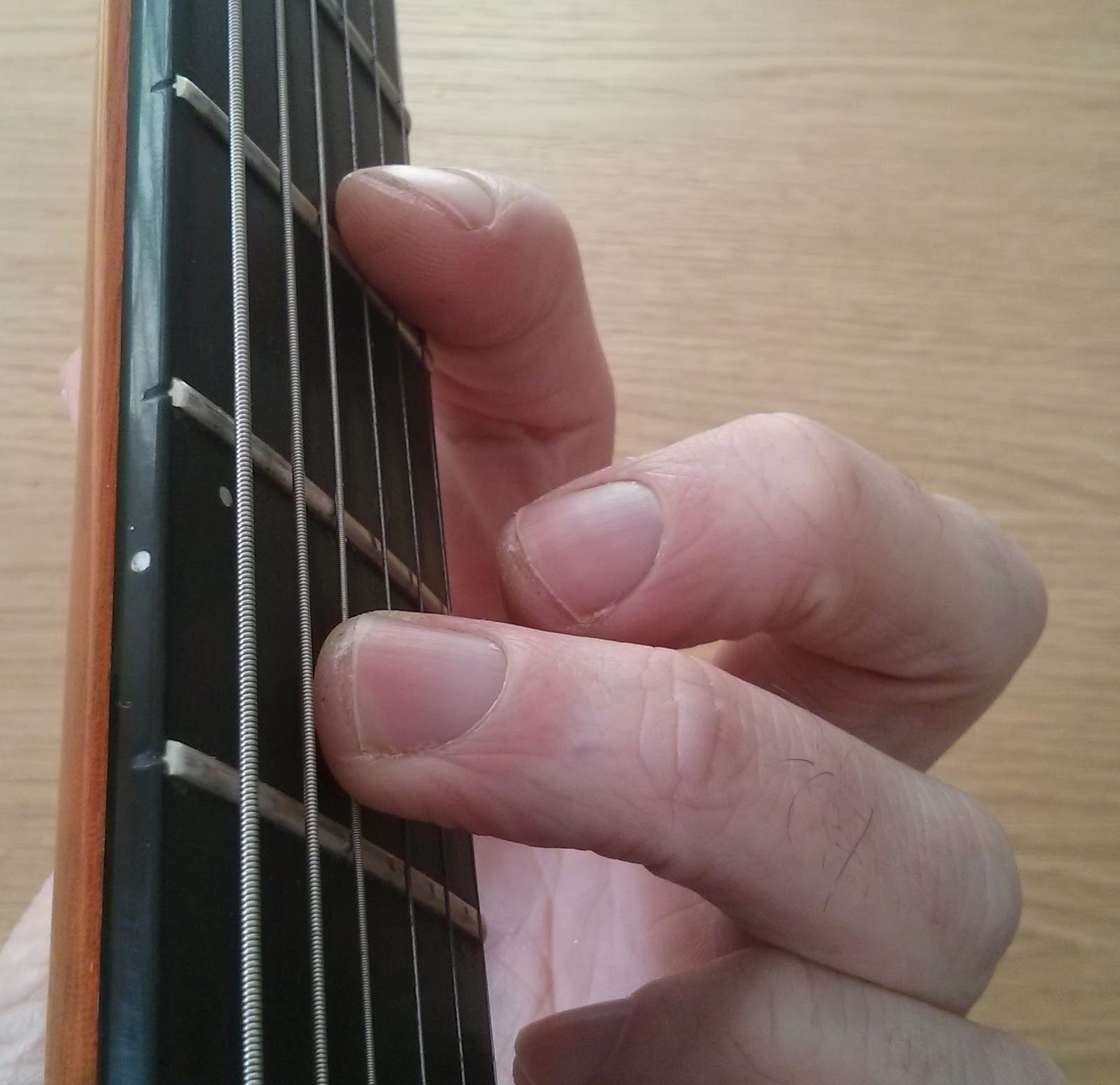 Gminor guitar chord - half barre