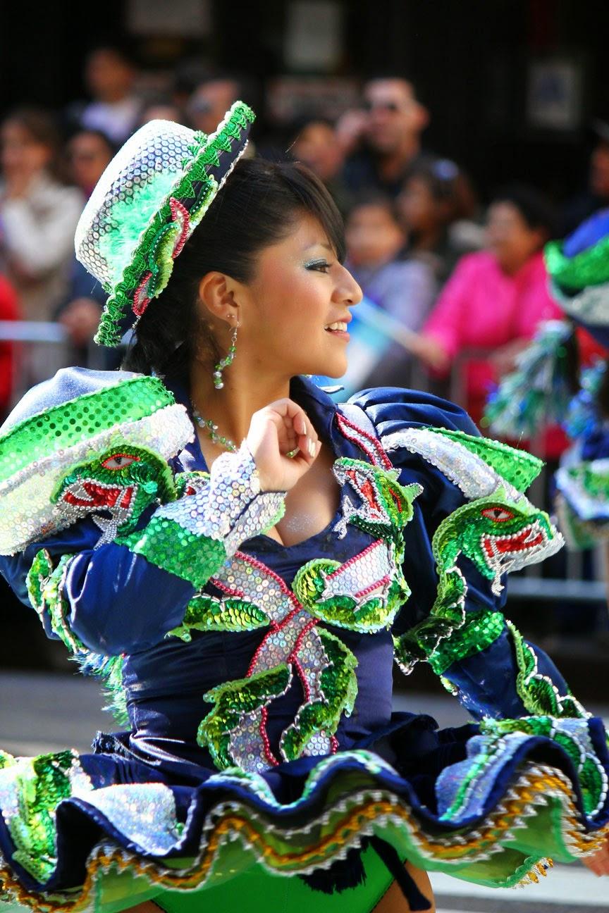 cultura folklorica boliviana - Caporal