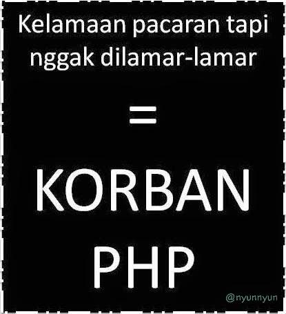 Gambar DP BBM PHP Pemberi Harapan Palsu