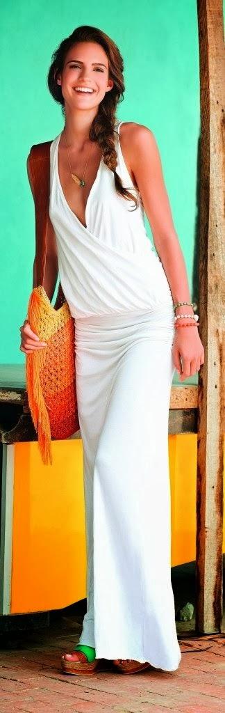 Amazing White Dress for Ladies