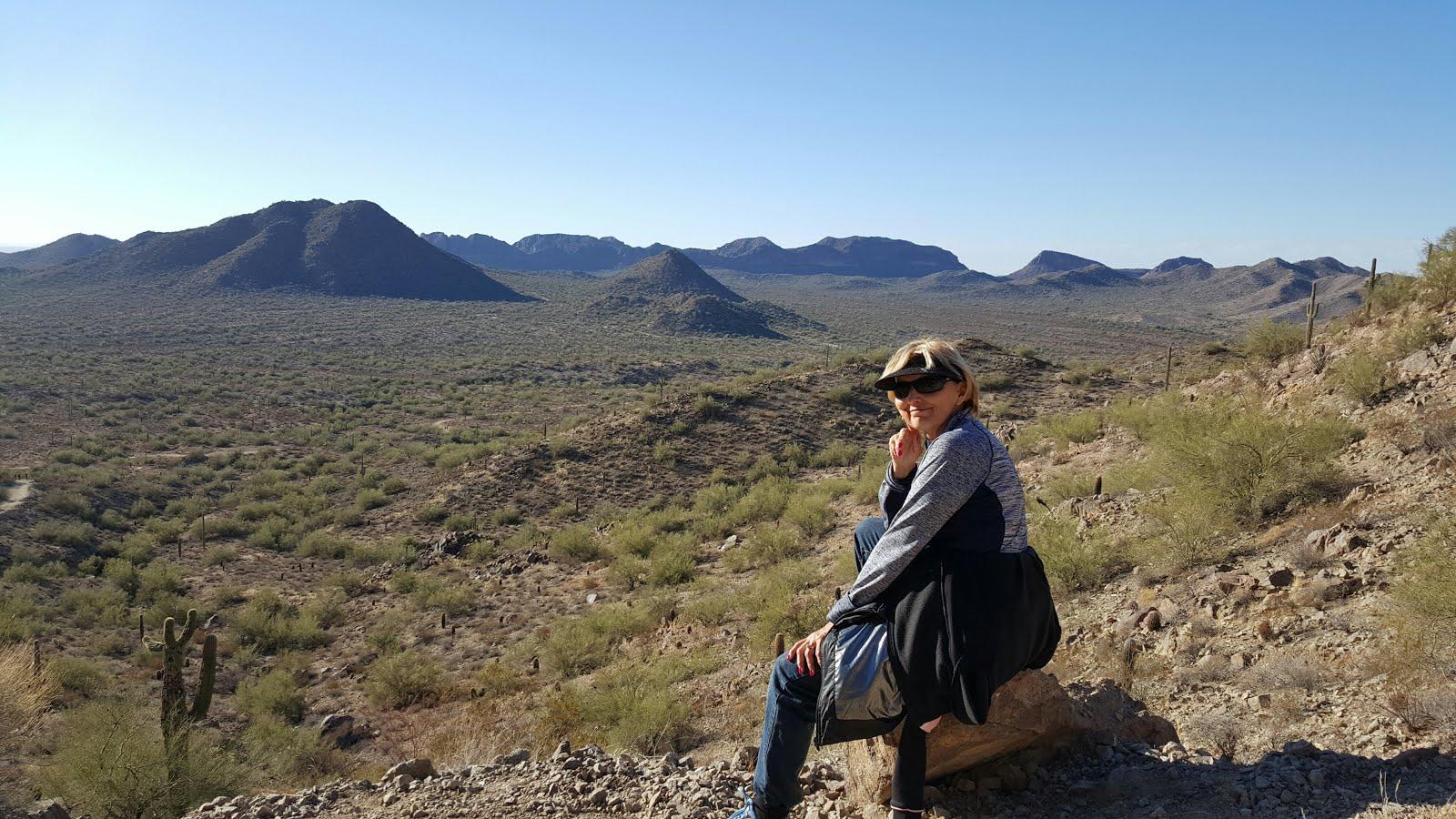 Hiking in Arizona