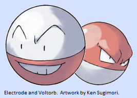 electrode and voltorb - photo #7
