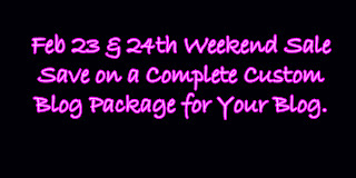 sale, weekend sale, complete blog, custom blog, custom blog design, blog design, blogger design, custom graphic design, graphic design, web design, custom web design, on sale, cheap, affordable,