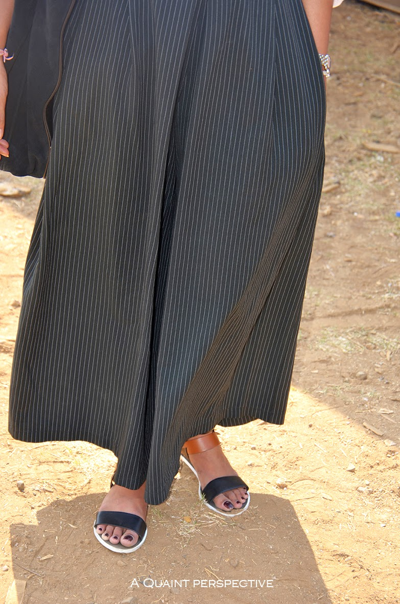 Pinstripes skirt...www.aquaintperspective.com
