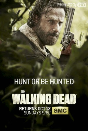 The Walking Dead 5 2014 poster