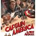 """""""Capitão América: O Primeiro Vingador"""" - Cartaz retrô"""