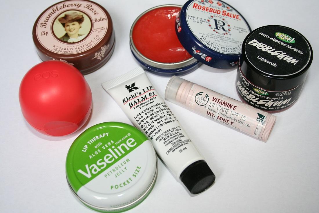 droge lippen tips