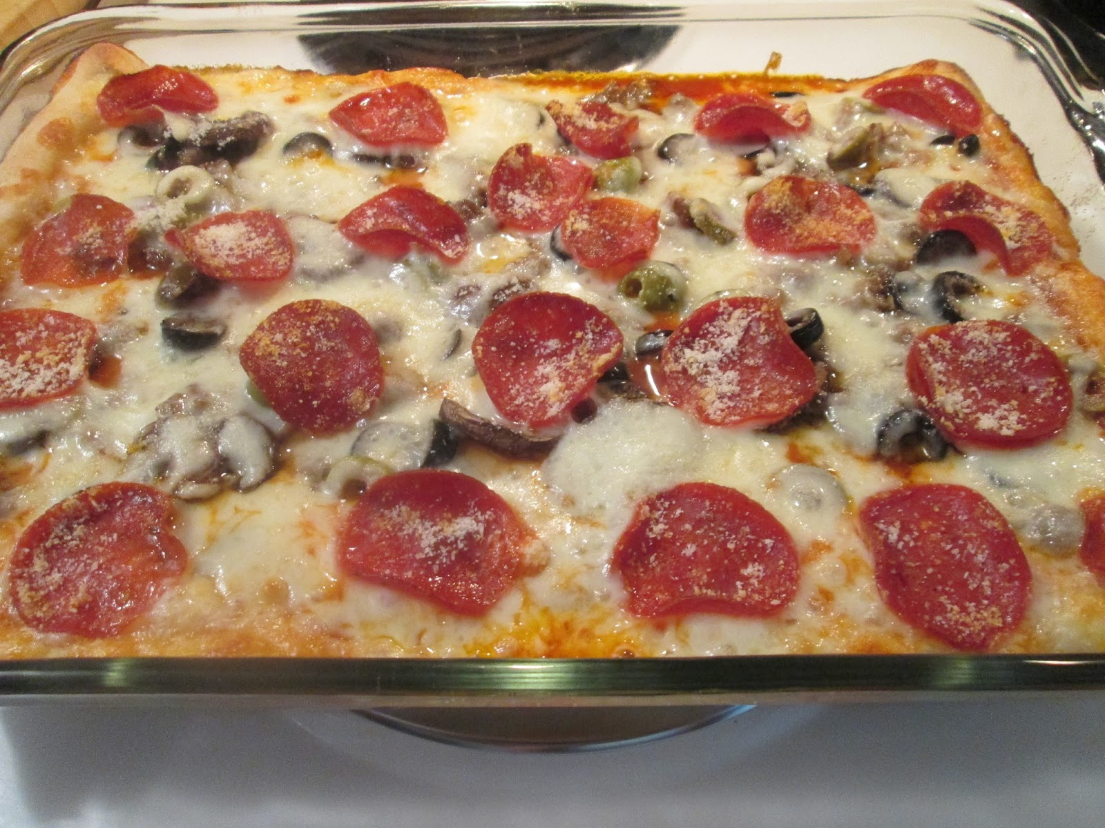 Diab2Cook: Deep Dish Pizza Casserole