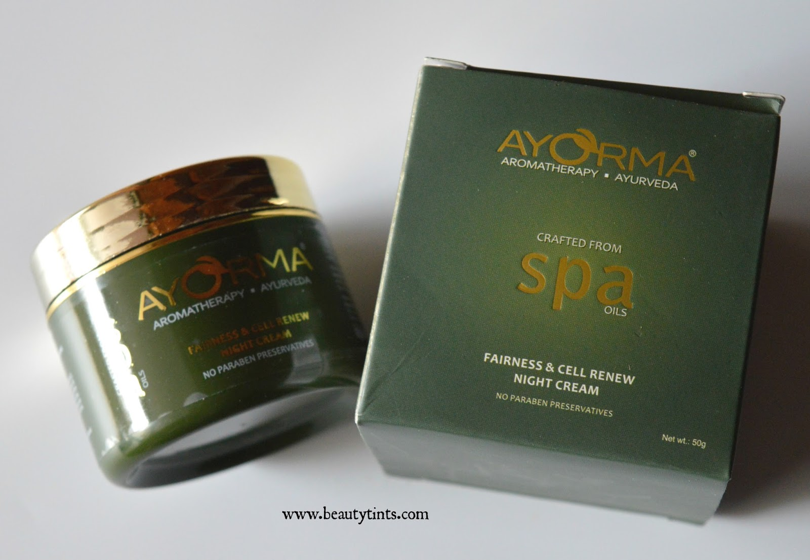 Sriz beauty blog ayorma fairness cell renew night cream for Renew home designs reviews