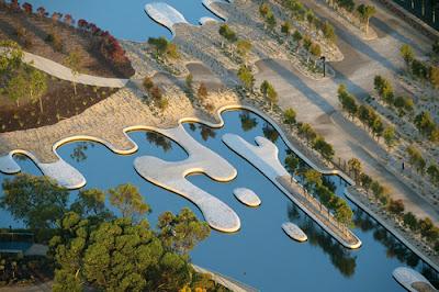 Australian botanic garden by Taylor Cullity Lethlan & Paul Thompson