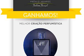 Melhor criação perfumística - Empire da Hinode