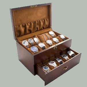 Kotak Jam Tangan + Perhiasan