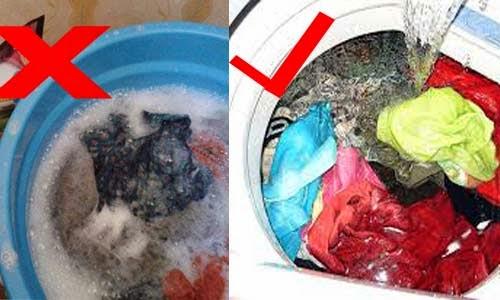Cara Mencuci Pakaian Agar Tidak Luntur