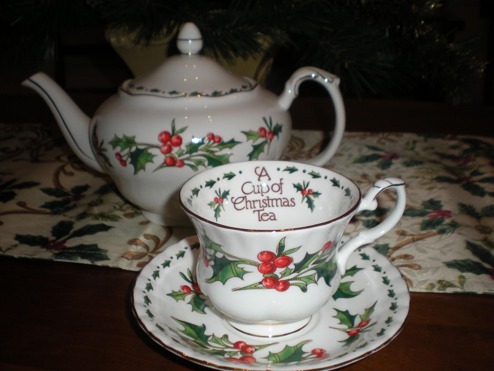 teacup thursday a cup of christmas tea