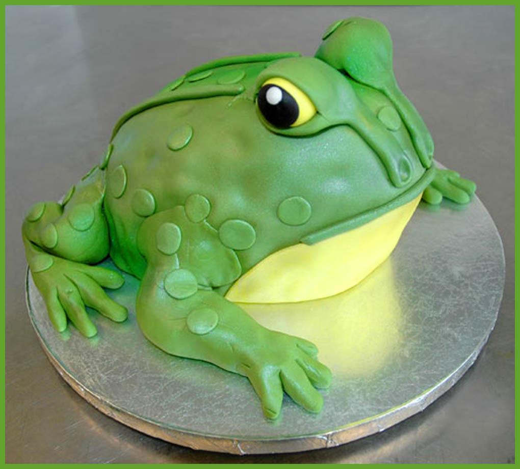 Frog Cake Designs