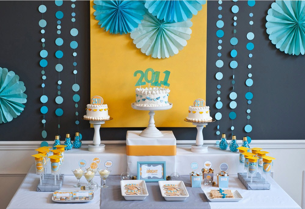 "Graduation Party Ideas – ""A Bright Future"""