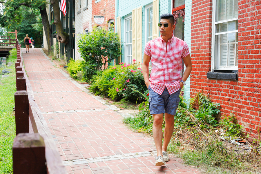 #WhereUNIQLO Levitate Style Washington DC | Summer Style Travel feat. Uniqlo, Daniel Wellington, Washington DC Georgetown, Menswear