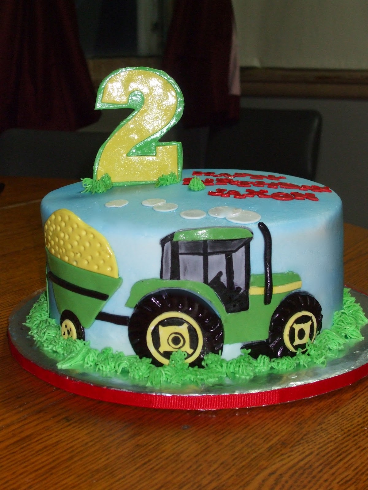 Cakes by Paula John Deere Tractor Birthday Cake