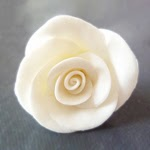How to make cold porcelain rose beads
