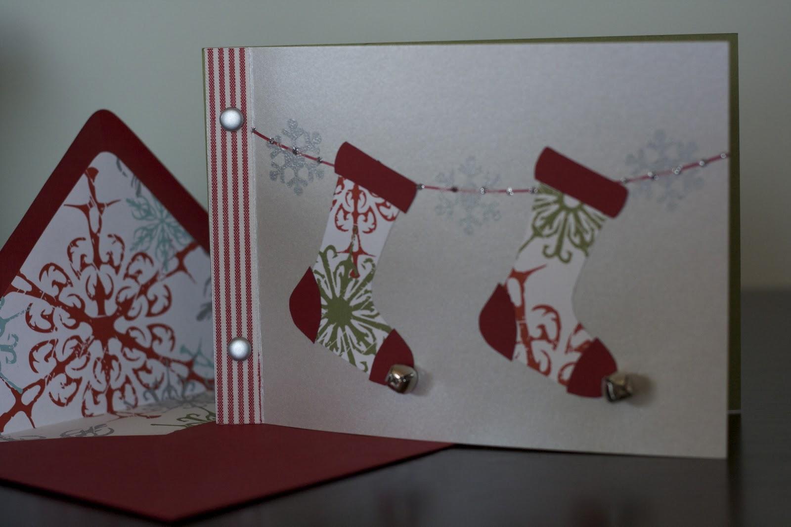 eyelet & ice cream: Stocking Christmas Cards