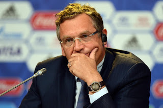 FIFA fires secretary general Jerome Valcke