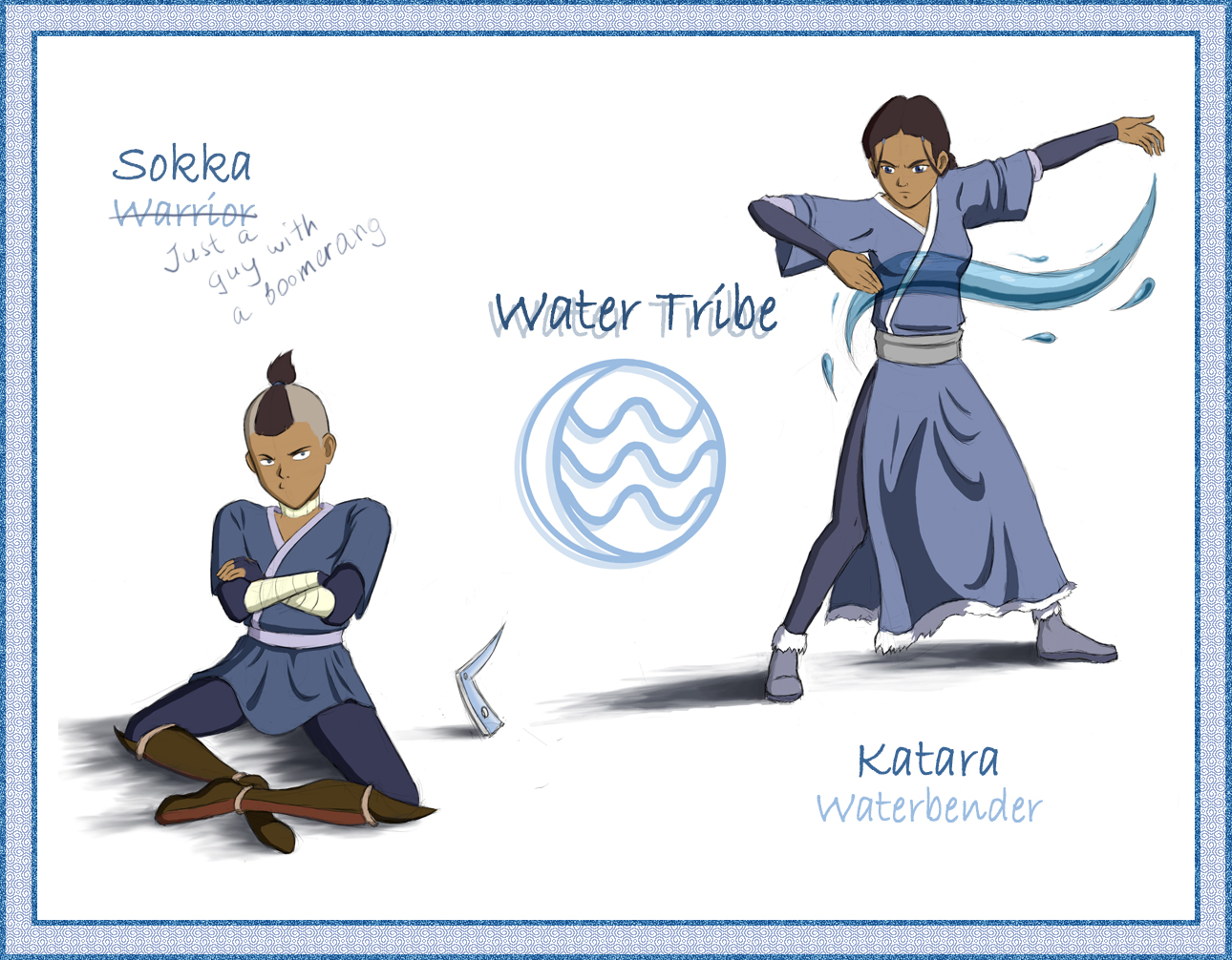 What words..., Avatar the last airbender katara and sokka important answer