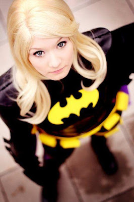 Blonde Batgirl Cosplayer