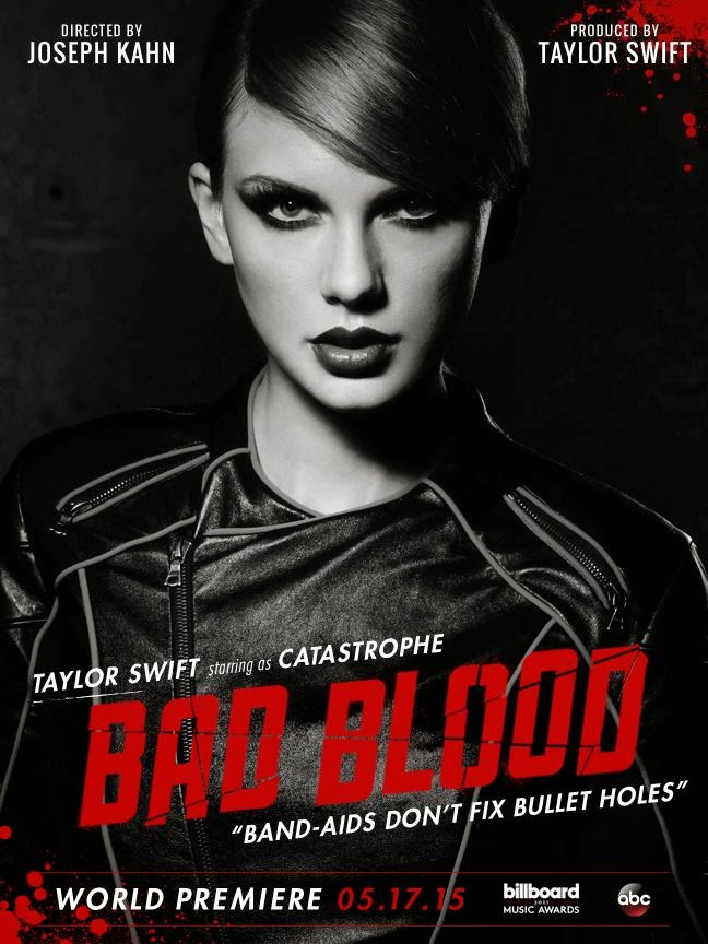 """Bad Blood"" Music Video Introduction and Cast"