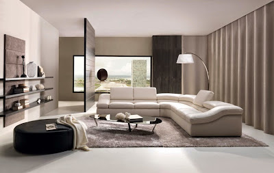 Desain Ruang Tamu Rumah Modern