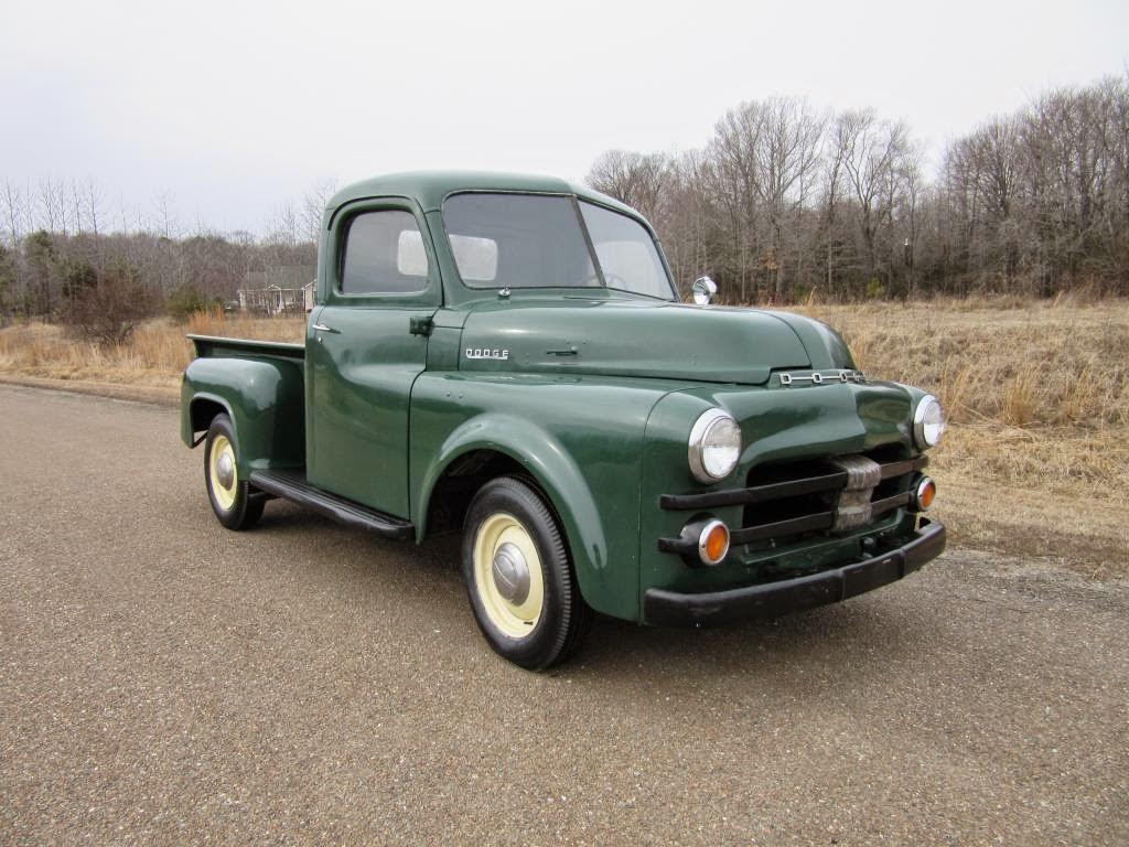 all american classic cars 1953 dodge b series pickup truck. Black Bedroom Furniture Sets. Home Design Ideas
