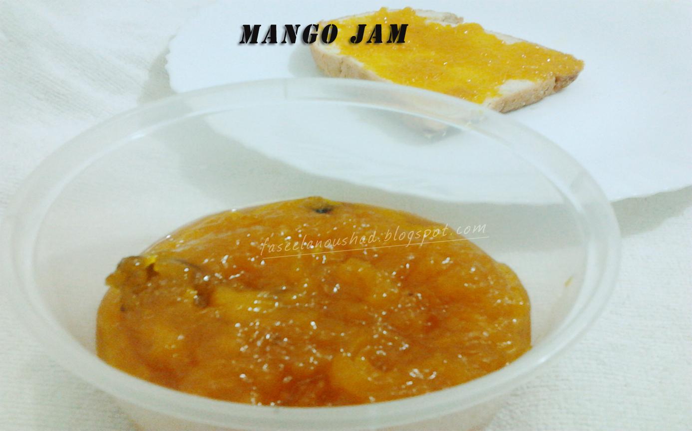 GOOD FOOD ENDS WITH GOOD TALK: Mango Jam
