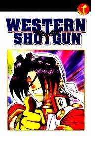 Komik Western Shotgun Bekas Lengkap