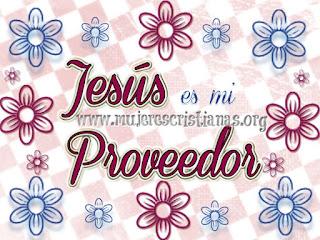 Jesús es mi Proveedor