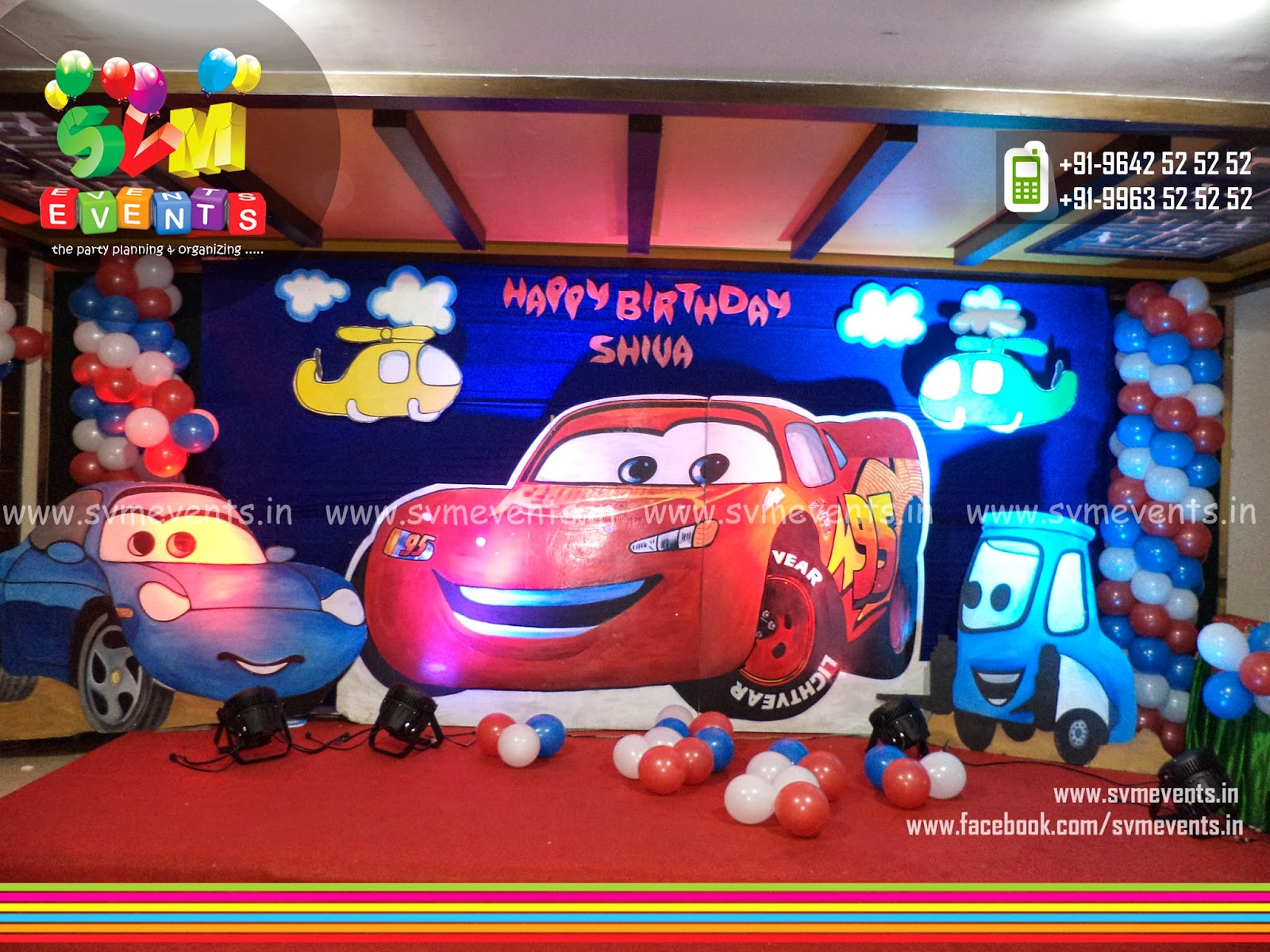 Svm Events 2D Or Semi 3D Backdrops Balloon decorations