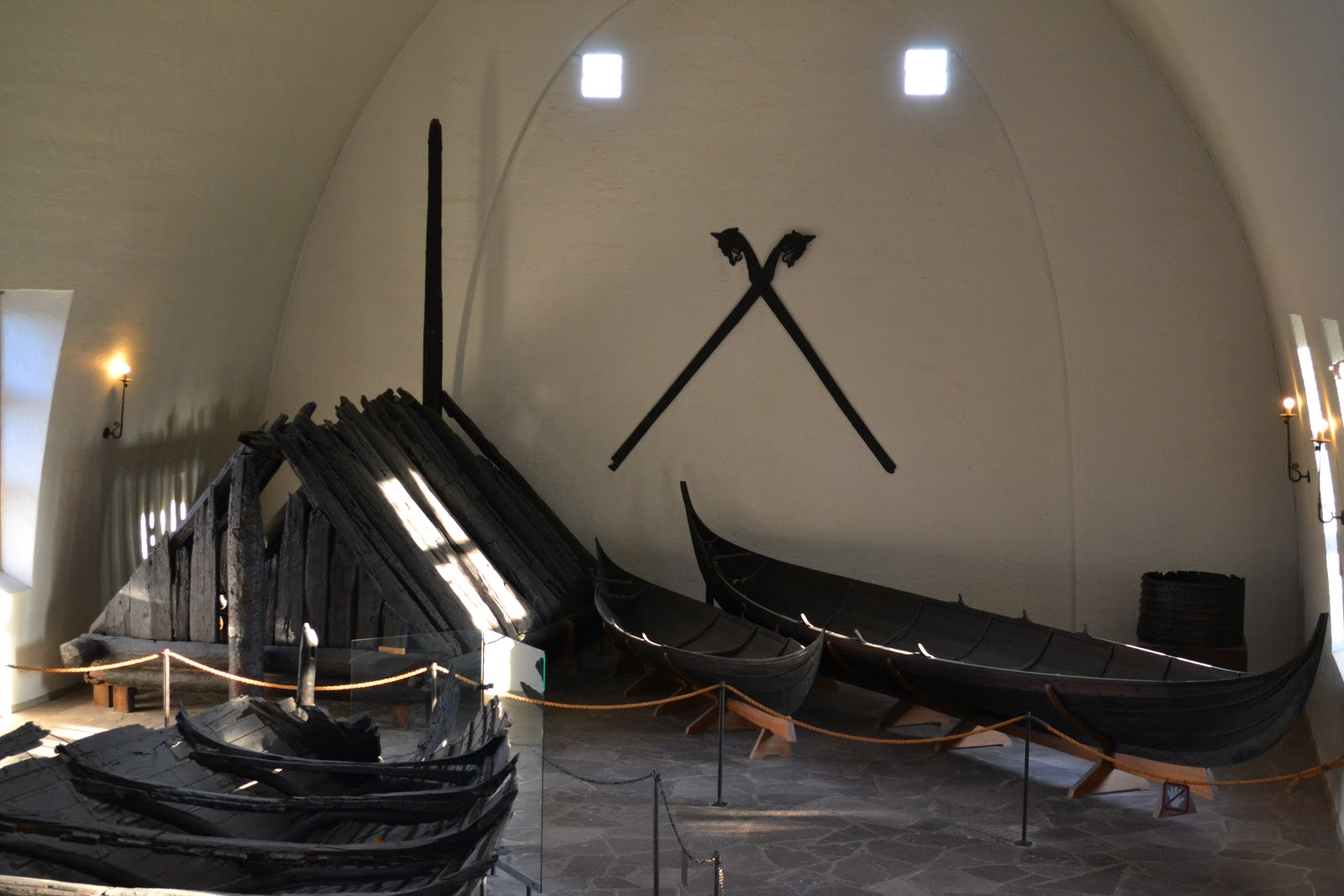 Viking ship at the museum