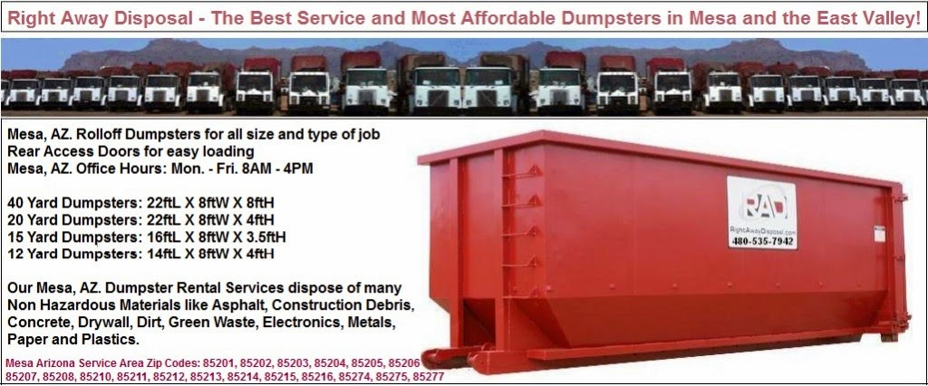 Arizona Trash Disposal Services