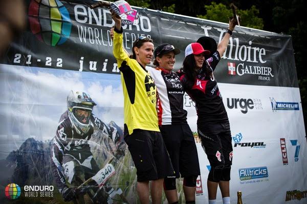 2014 Enduro World Series: Valloire, France - Results - Womens Podium