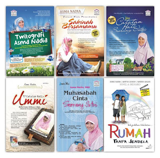 beli buku online catatan hati seorang istri asma nadia rumah buku iqro toko buku online