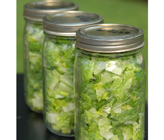 How to Make Salad in a Jar