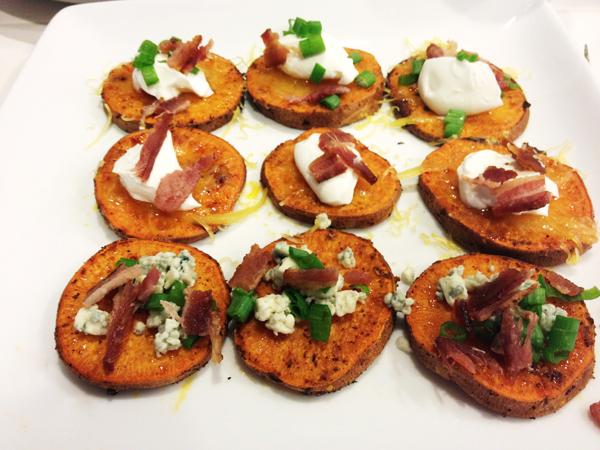 Simply Alicia: Loaded Sweet Potato Rounds - Any Way You Like 'em