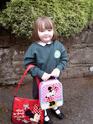 Cara's First Day At School September 2014