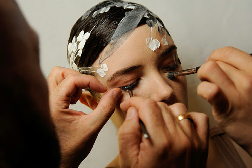 MAC Backstage at Alexis Mabille Paris Haute-Couture Fashion Week Fall/Winter '13