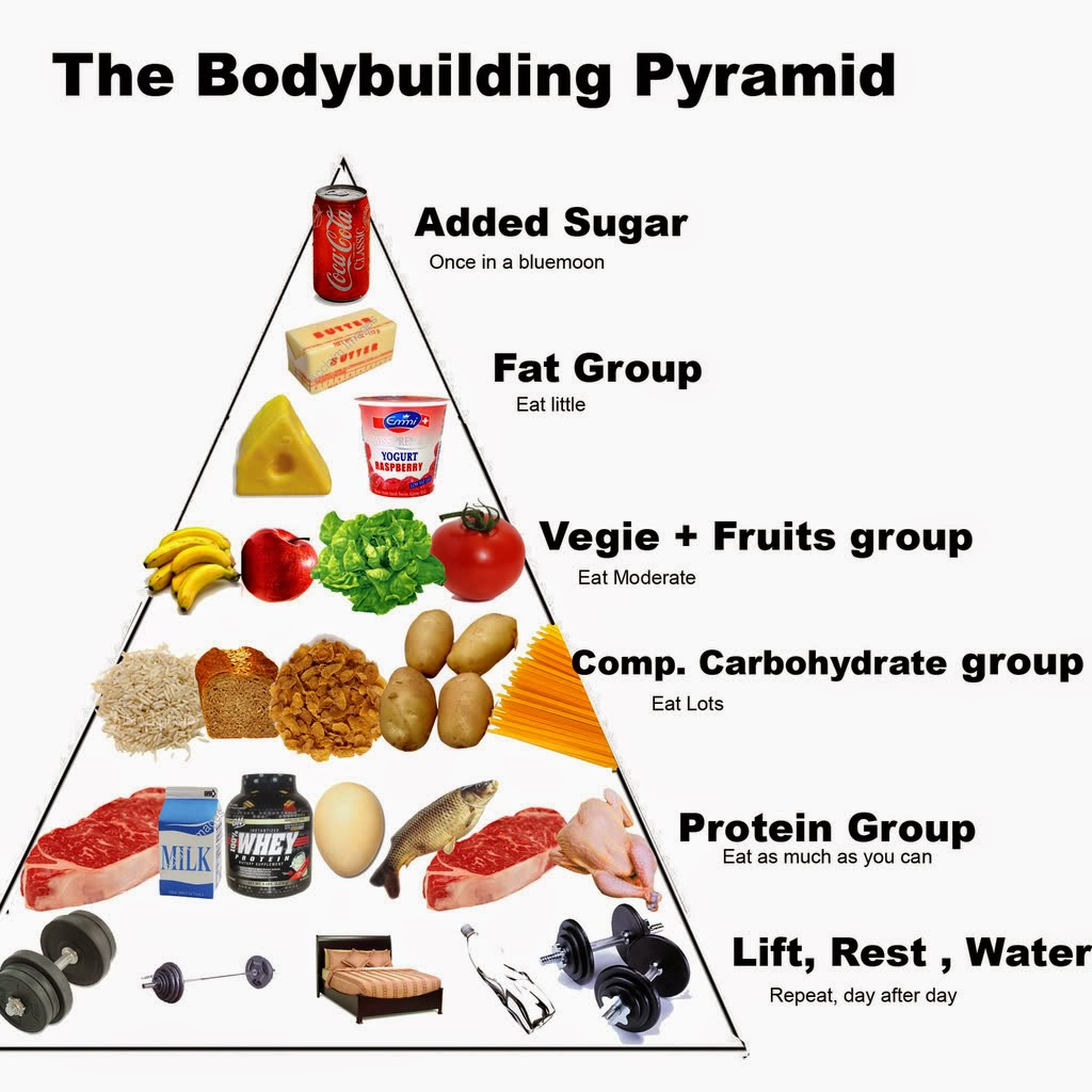 Muscles Food Bodybuilding Baqadim